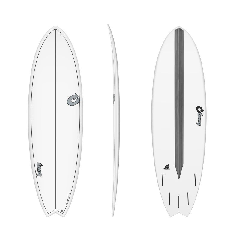 Surfboard TORQ Epoxy TET CS 5.11 MOD Fish Carbon