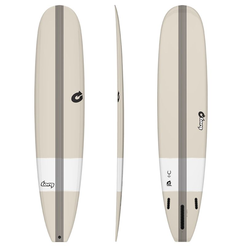 Surfboard TORQ Epoxy TEC The Horseshoe 9.0 Stone