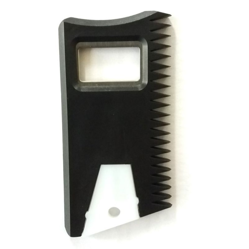 Multipurpose wax comb with fin key and bottle opener