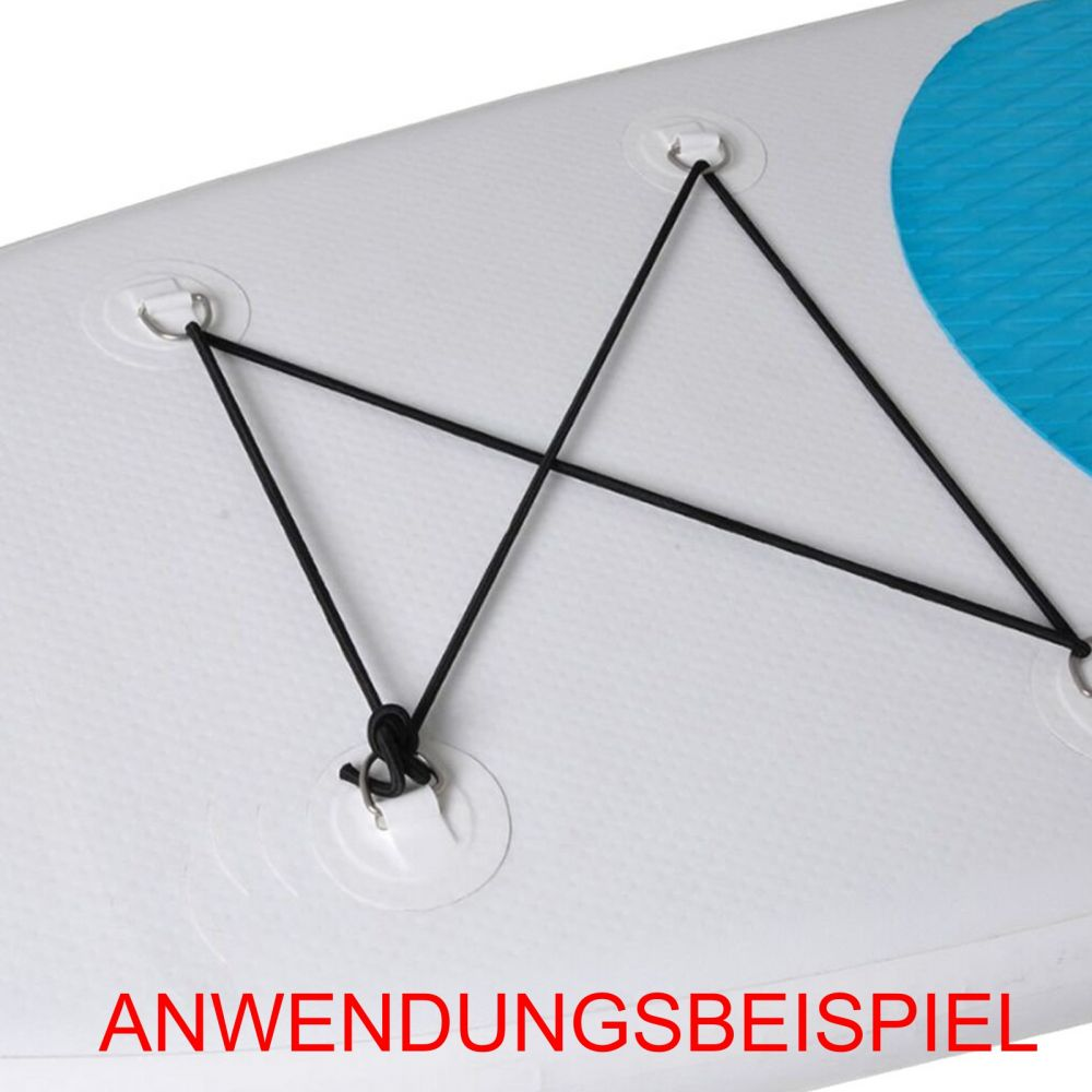 4x D-Ring Befestigung für iSUP inflatable Boards