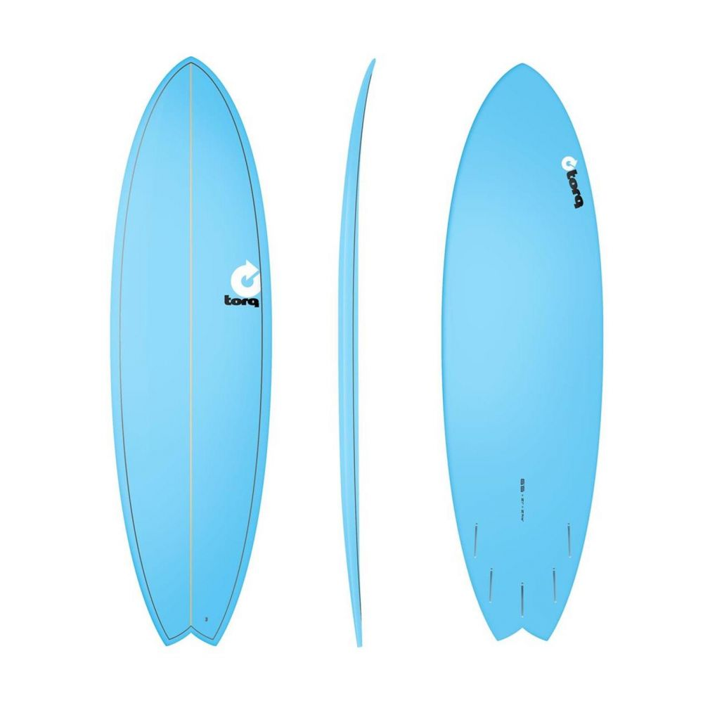 Surfboard TORQ Epoxy TET 6.6 MOD Fish  Blue