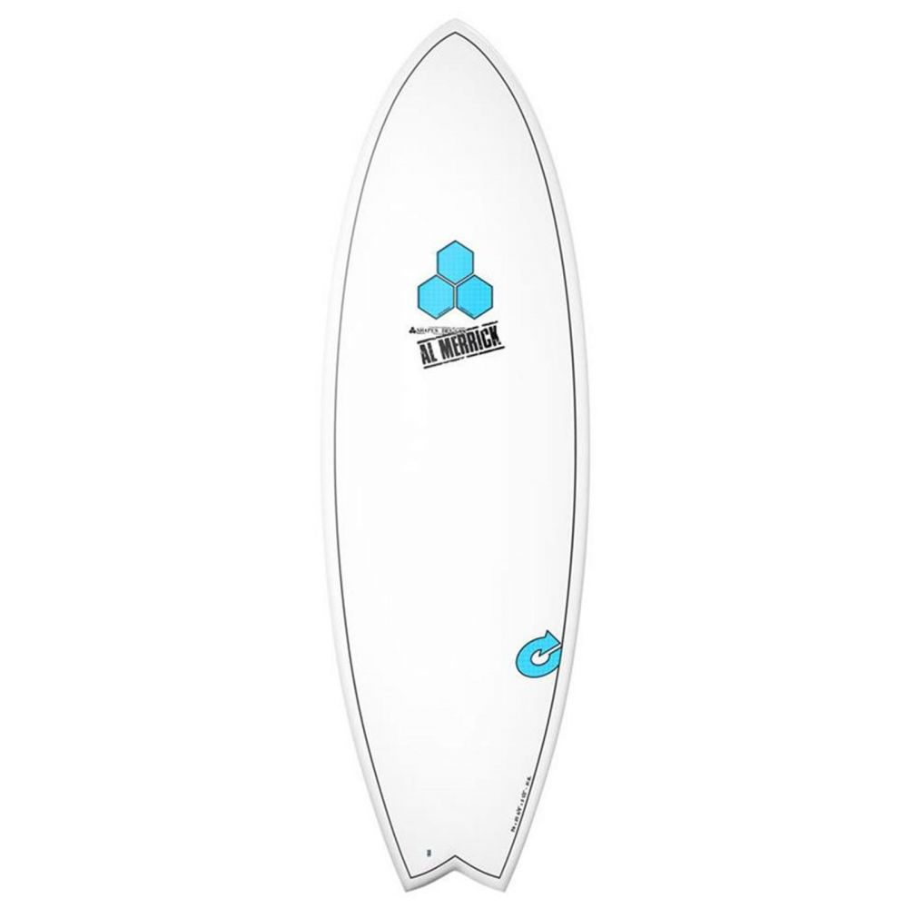 Surfboard CHANNEL ISLANDS X-lite Pod Mod 5.6 wit