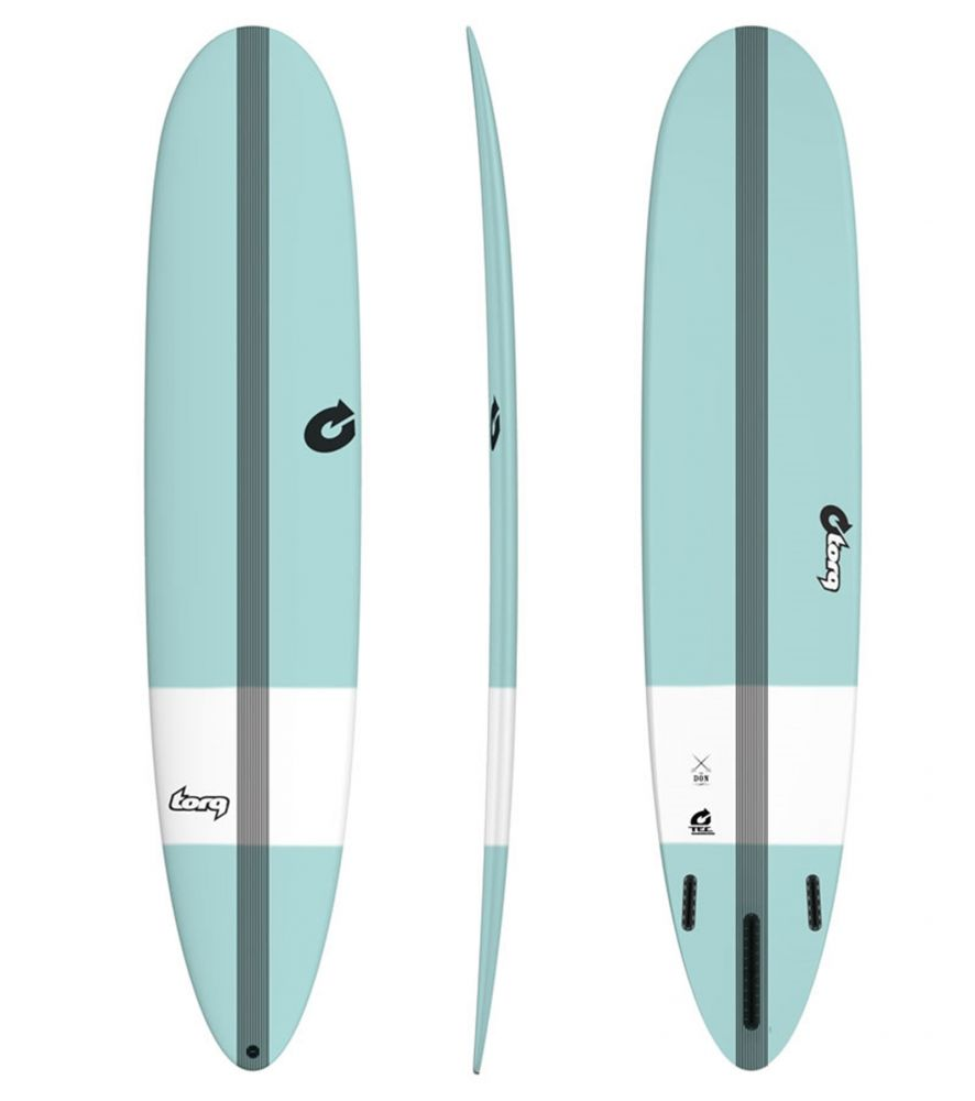 Surfboard TORQ Epoxy TEC The Don 8.6 Grün