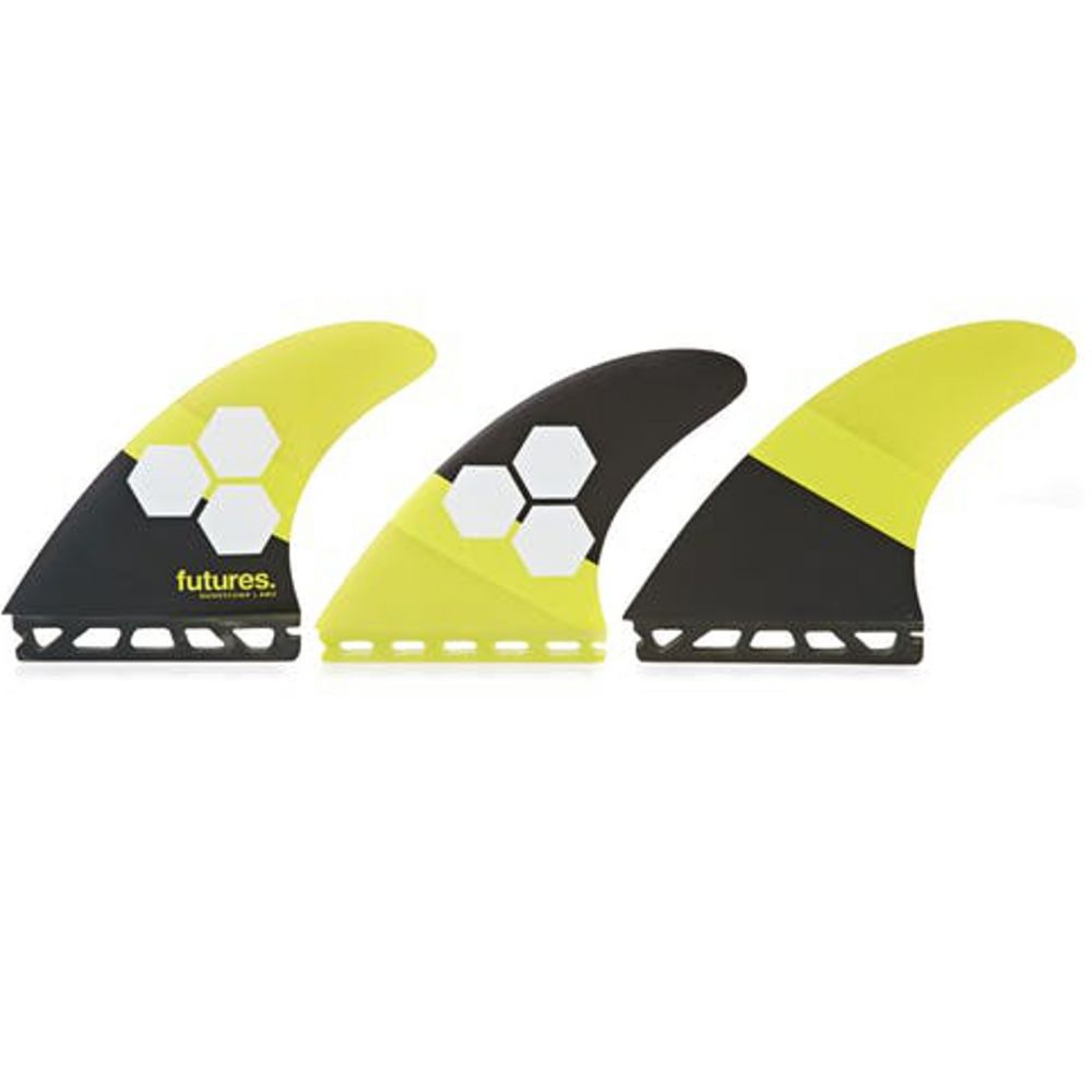 FUTURES Thruster Fin Set AM2 Al Merrick Honeycomb