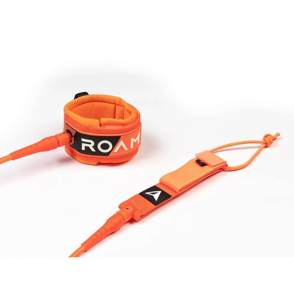 ROAM Surfboard Leash Premium 6.0 183cm 7mm Orange