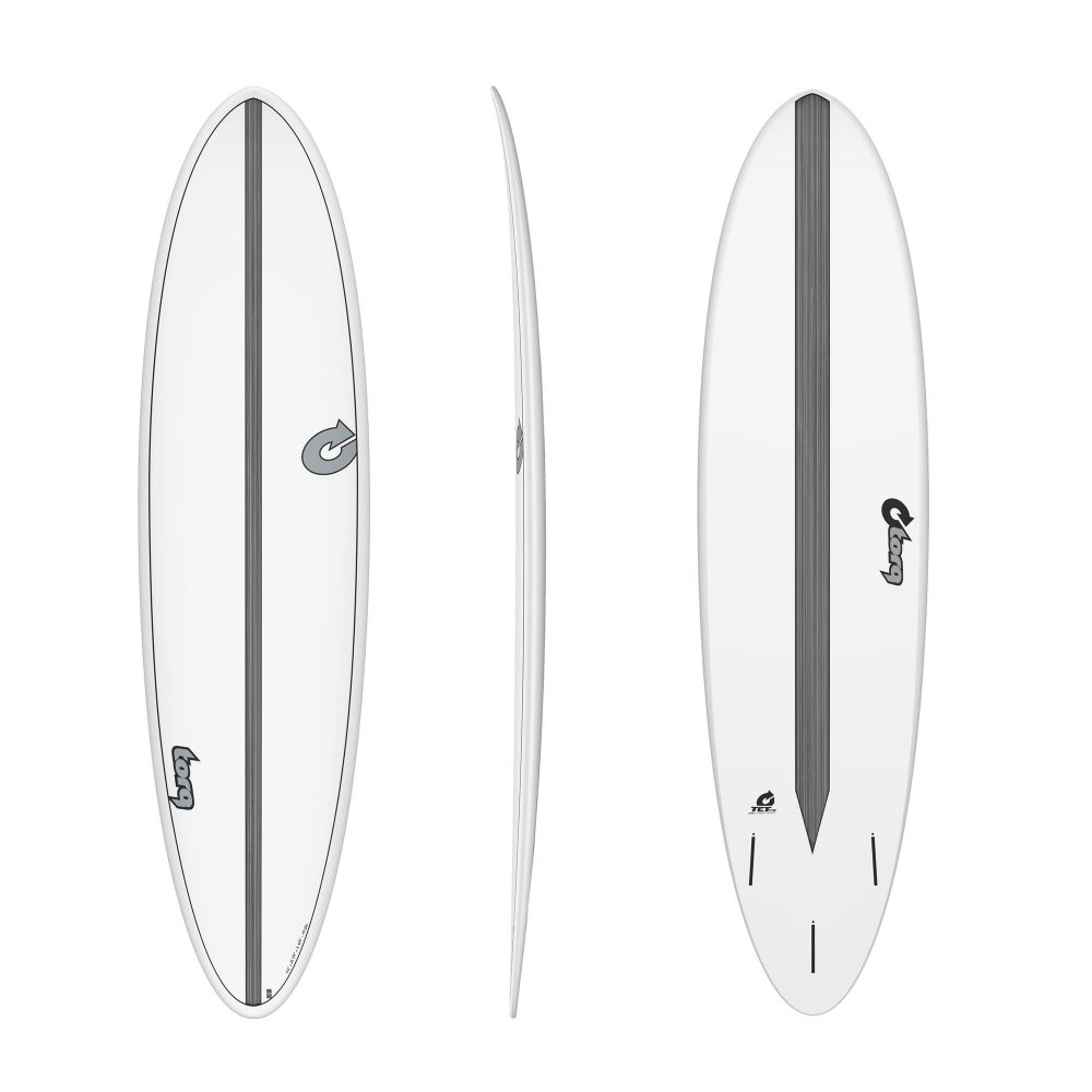 Surfboard TORQ Epoxy TET CS 7.2 Funboard Carbon