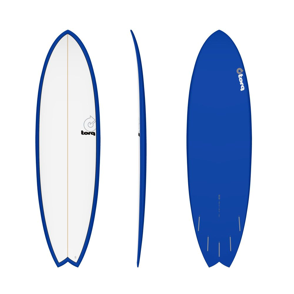 Surfboard TORQ Epoxy TET 6.3 MOD Fish Navy Pinl