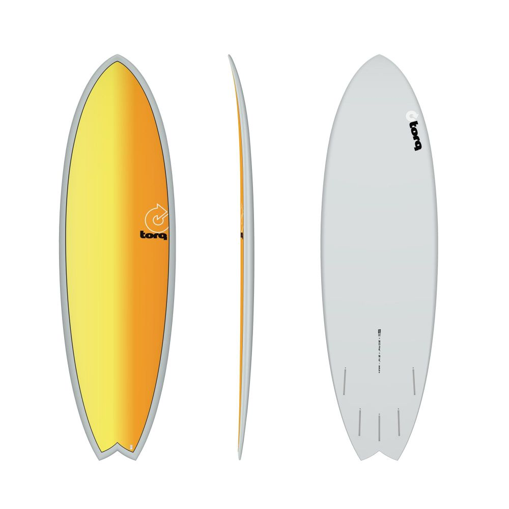 Surfboard TORQ Epoxy TET 5.11 MOD Fish Full Fade