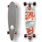 BUGZ Skateboard Longboard Pintail 102 Concave