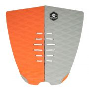KOALITION Footpad Deck Grip BARREL Orange-grijs 2pc