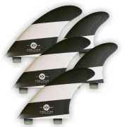 KOALITION Surfboard Vinnen Quad-Thrust L FCS