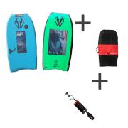 NMD Bodyboard Element PE value pack with leash and bag